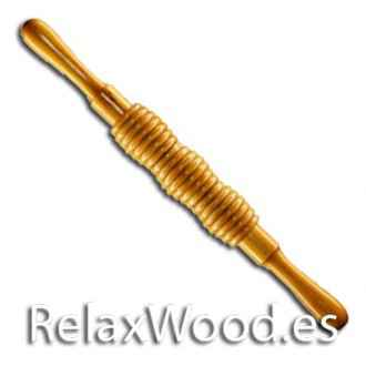 Bocelado three barrels for therapy treatments wood