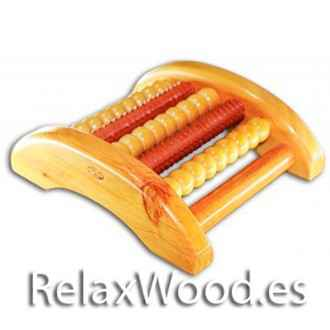 Relax foot simple - for relaxation therapy wood