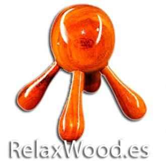 Octopus Massagegerät für Therapie-Behandlungen Holz