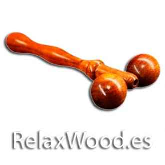 Face Roller ball wood therapy