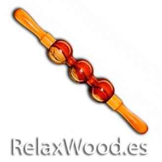 Triesferico tratamentos de terapia rolo giratório madeira