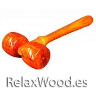 Hongo colonna per i trattamenti di terapia legno