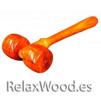 Hongo column for therapy treatments wood