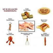 Pack Relajación para tratamientos de Maderoterpia