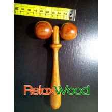Traitement du bois visage à bille roulante